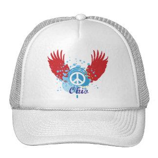 Signo de la paz de Ohio Gorra
