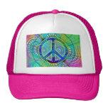 Signo de la paz de Psychadelic Gorros