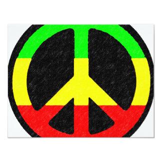 Signo de la paz de Rasta Anuncios Personalizados