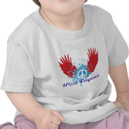 Signo de la paz de Virginia Occidental Camiseta