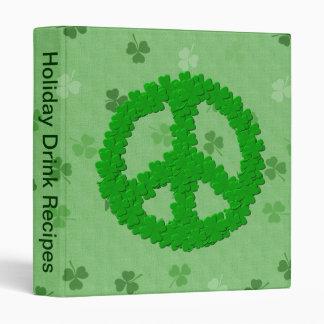 """Signo de la paz del día de St Patrick Carpeta 1"""""""
