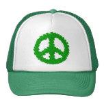 Signo de la paz del día de St Patrick Gorras