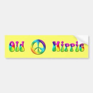 Signo de la paz del Hippie del arco iris del KRW Pegatina Para Coche