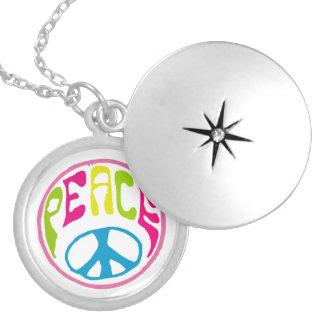Signo de la paz del Hippie Pendiente