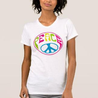 Signo de la paz del hippy playera