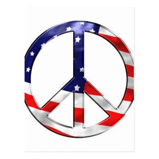signo de la paz del merica postal