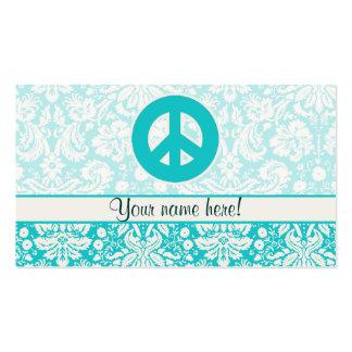 Signo de la paz del trullo tarjeta de negocio