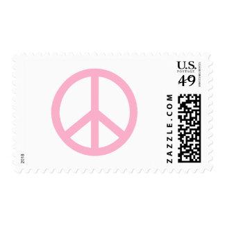 Signo de la paz estampillas