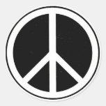 Signo de la paz etiquetas