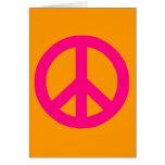 Signo de la paz felicitacion