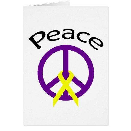 Signo de la paz felicitaciones