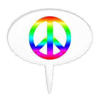 Signo de la paz figura de tarta