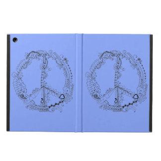 Signo de la paz floral artsy ilustrado mano
