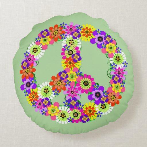 Signo de la paz floral