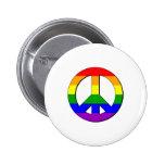 Signo de la paz gay pins