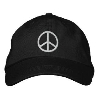 Signo de la paz gorra de beisbol