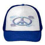 Signo de la paz gorras