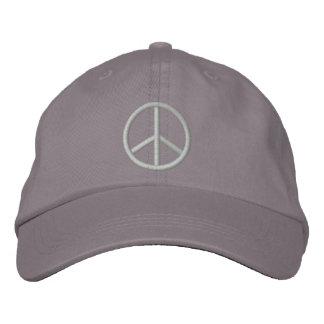 Signo de la paz gorras bordadas