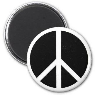 Signo de la paz imán para frigorifico