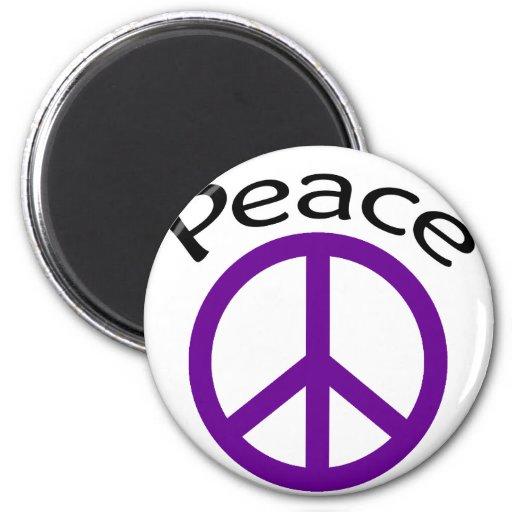 Signo de la paz imán