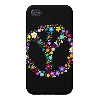 Signo de la paz invertido - como su inventor quiso iPhone 4 funda