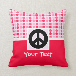Signo de la paz lindo almohada