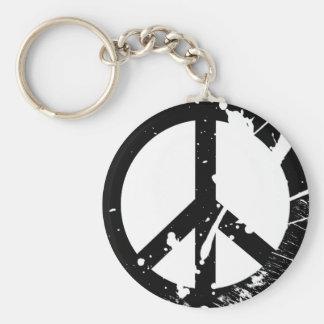 Signo de la paz llaveros