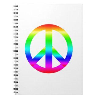 Signo de la paz notebook