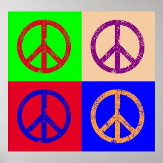 Signo de la paz posters