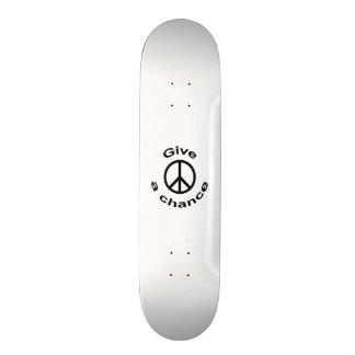 """Signo de la paz patineta 8 1/8"""""""
