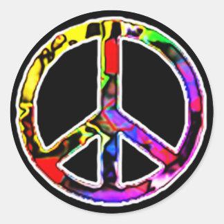 Signo de la paz pegatinas