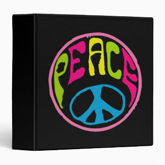 Signo de la paz psicodélico del Hippie