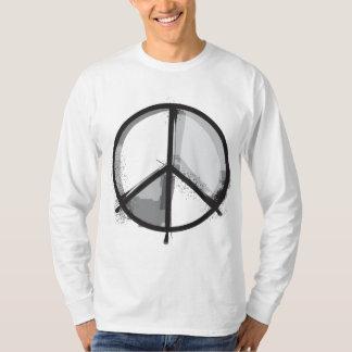 Signo de la paz - punk de la alternativa del playera