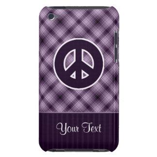 Signo de la paz púrpura iPod touch Case-Mate carcasa