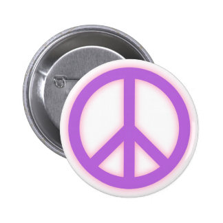 Signo de la paz púrpura pins