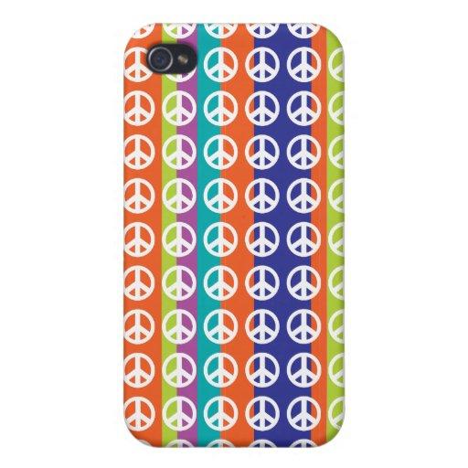 signo de la paz rayado 4/4S iPhone 4 Cobertura