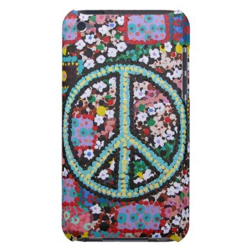 Signo de la paz retro iPod touch Case-Mate protector
