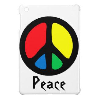 Signo de la paz retro iPad mini cárcasas