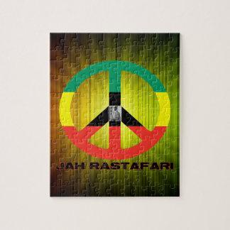 Signo de la paz Selassie I de Jah Rastafari Puzzle Con Fotos