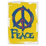 Signo de la paz sucio felicitaciones