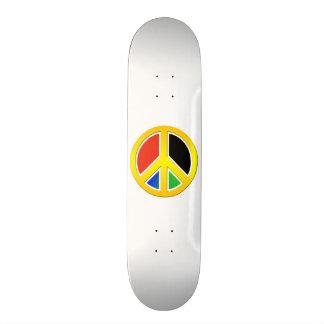 Signo de la paz tablas de patinar