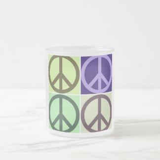 Signo de la paz taza