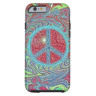 Signo de la paz Trippy maravilloso psicodélico Funda Resistente iPhone 6