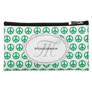 Signo de la paz verde