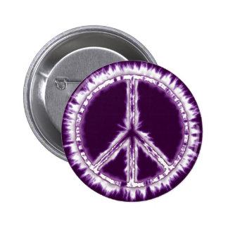 Signo de la paz vivo de la energía eléctrica del r pin