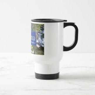 Signo positivo de Indiana Tazas De Café