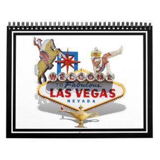 Signo positivo de Las Vegas Calendario