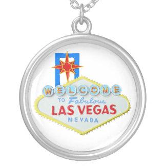 Signo positivo de Las Vegas Colgante Redondo