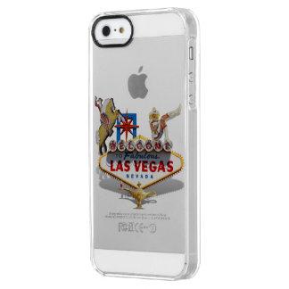 Signo positivo de Las Vegas Funda Clearly™ Deflector Para iPhone 5 De Uncommon