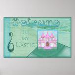 Signo positivo del castillo (a partir del $10,45) impresiones